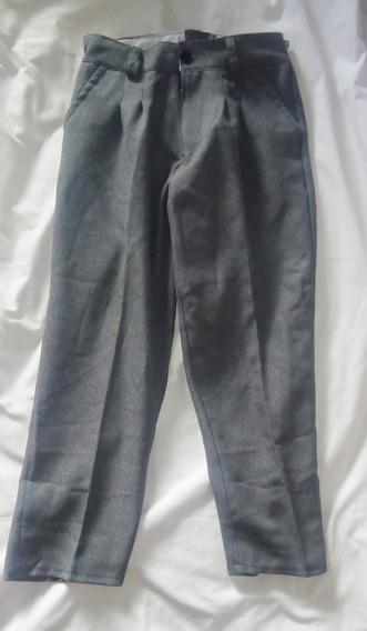 Pantalon Gris Escolar De Sarga