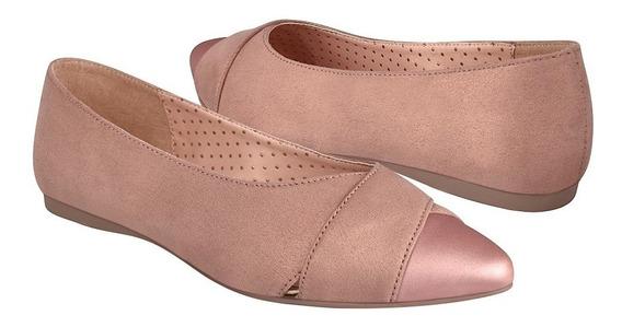Zapatos Capa De Zono Para Mujer Casuales 382619-3 Rosa Maqui