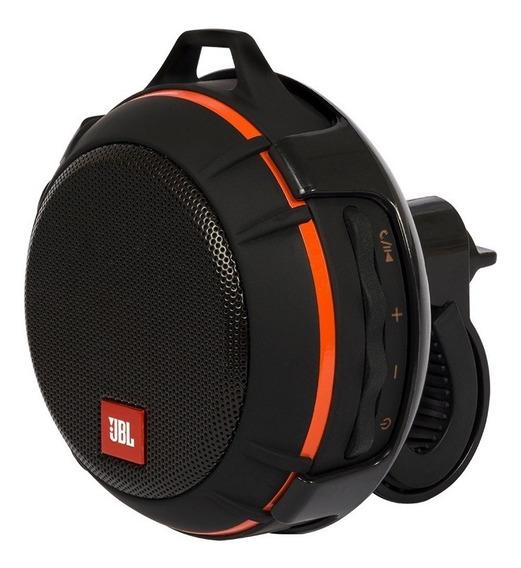 Caixa De Som Bluetooth Portátil Jbl Wind Para Moto Ciclismo