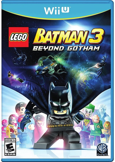 Lego Batman 3 - Wii U - Midia Fisica Lacrado Pronta Entrega