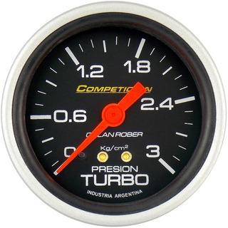 Presion Turbo 3 Kg 60mm Orlan Rober Competicion Glicerina