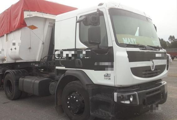 Camion Renault 320 Cd 2014 Tractor