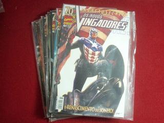 Novos Vingadores 61 A 69 E 80 (editora Panini - 2009/2010)