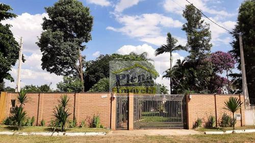 Chácara Com 2 Dormitórios À Venda, 828 M² Por R$ 690.000,00 - Condomínio Chácara Grota Azul - Hortolândia/sp - Ch0145