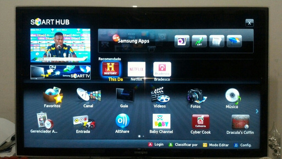 Tv Samsung Smart 46 Polegadas - Somente Venda