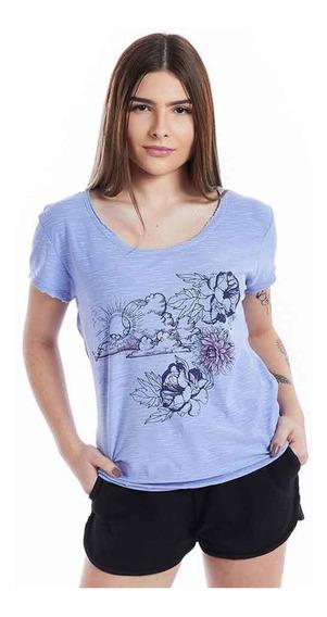 Camiseta Feminina Baby Look Paradise Mormaii