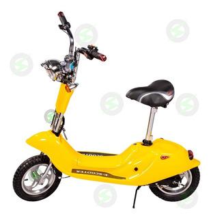 Patinete Elétrico 250w C/ Banco Mini Scooter