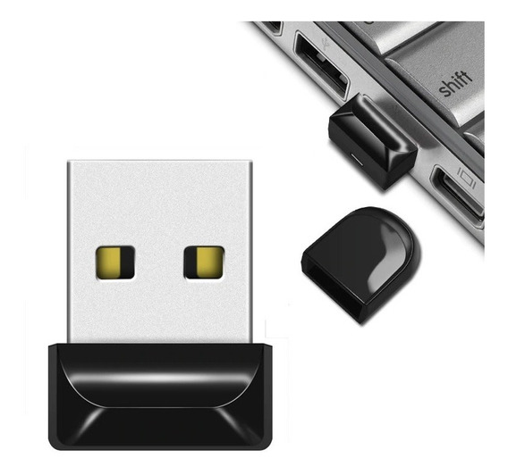 Micro Mini Pen Drive 64gb Real Usb 2.0 A Prova D
