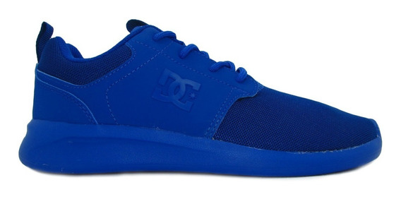 Tenis Dc Shoes Midway Sn Youth Adbs700059 Nab Nautical Blue