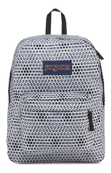 Zonazero Mochila Jansport Superbreak Optical Blanco