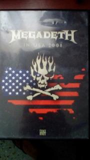Dvd Megadeth 2008