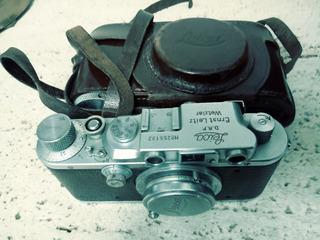 Camara Leica Iii Inmaculado Su Estado Por Sus Años