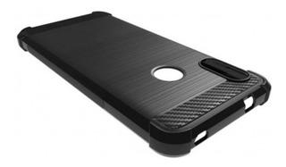 Funda Tpu Fibra Carbono Google Pixel 3a 3a Xl + Templado