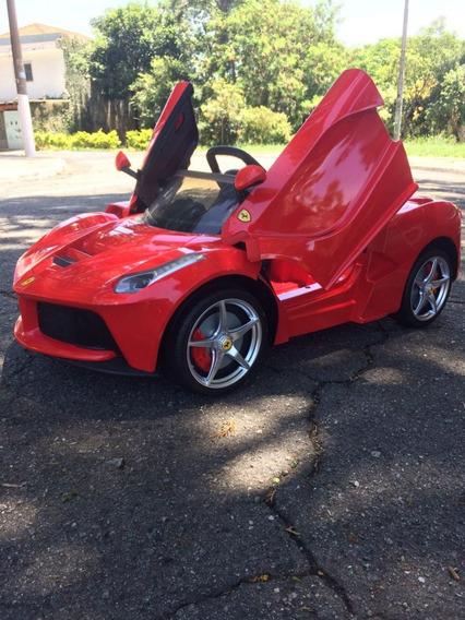 Carrinho Elétrico Infantil 12v Ferrari Dionelly Brinquedos
