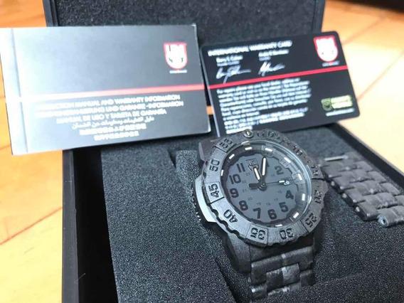 Relógio Luminox Navy Seals Xs 3502 Bo Carbon - Top Lindo!