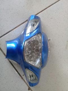 Carenagem Farol Bicicleta Elétrica Rema Azul