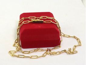 Cordão Cartier Banhado A Ouro 64 Cm 4 Mm