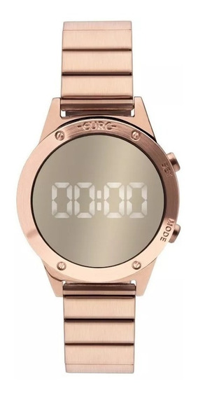 Relógio Euro Feminino Fashion Fit Eujhs31bac/4d Rose Digital