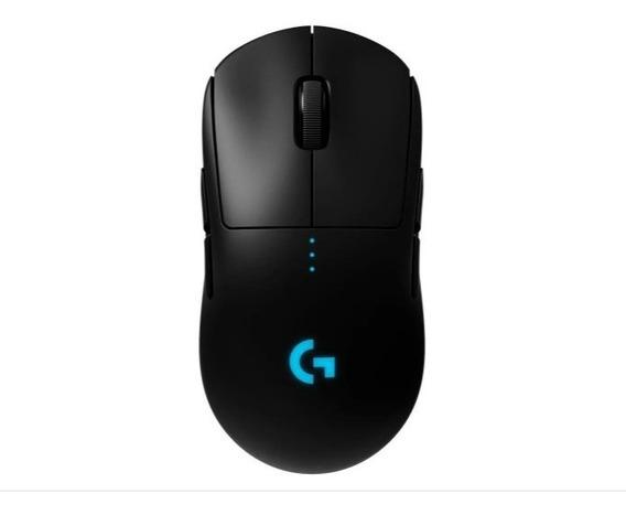Mouse Gamer Sem Fio Logitech G Pro Wireless Lightspeed Rgb
