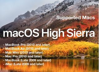Apple Macos High Sierra 10.13 Genuine Para Mac Disponible