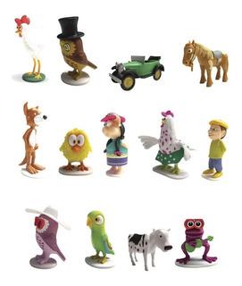 Clarín Colecciones Granja De Zenon Set 4 De 13 Figurines