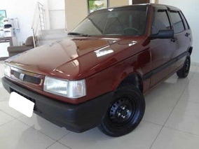 Fiat Uno 1.0 Mille Gasolina 1994 Vermelho Whast 119 3298-877