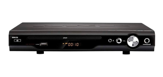 Dvd Player Usb Karaokê Game Dvd 4100b Nks