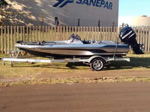 Barco Lancha Bass Boat Classic Motor 115hp