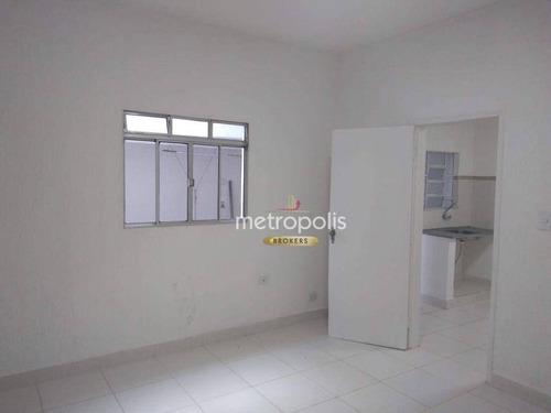 Imagem 1 de 5 de Casa Para Alugar, 70 M² Por R$ 1.550,00/mês - Olímpico - São Caetano Do Sul/sp - Ca1053