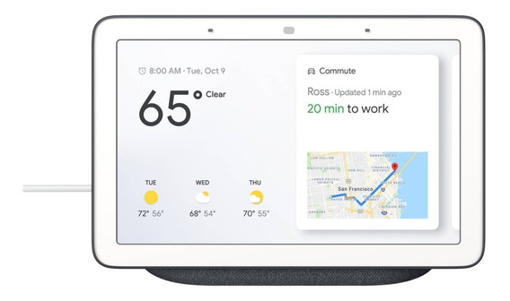Google Home Hub Assistant Chalk 7