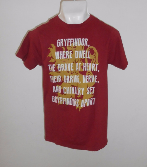 Harry Potter Playera Color Guinda 100% Original Talla M