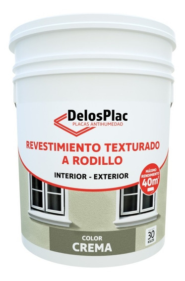 Revestimiento Texturado Rodillo Crema 30kg (tipo Tarquini)