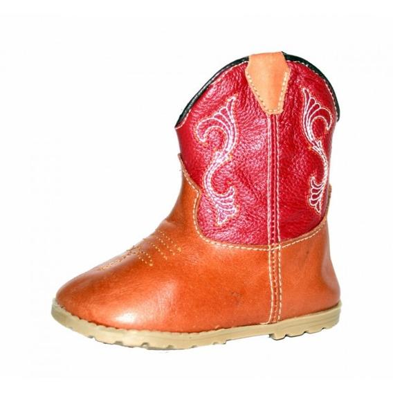 Bota Infantil Texana Baby Vermelho
