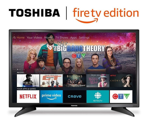 Tv Smart Toshiba 32 720p Hd Led Fire - Tv Nuevo (190v)