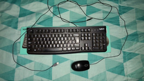 Teclado E Mouse Usb Logitech