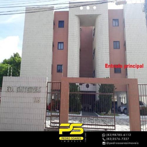 Apartamento Com 3 Dormitórios À Venda, 90 M² Por R$ 250.000,00 - Jardim Oceania - João Pessoa/pb - Ap3581