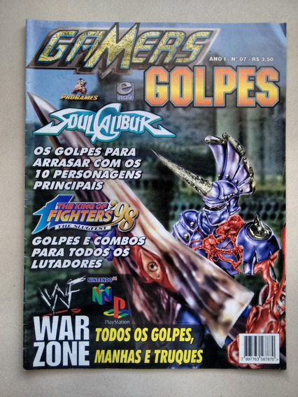 Revista Gamers 7 Golpes Soul Calibur War Zone D268