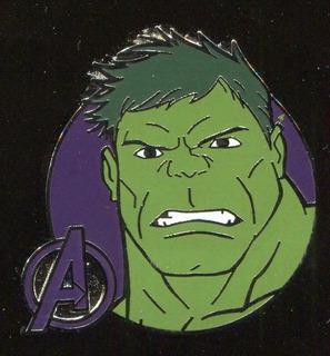 Pin Broche De Hulk Marvel Vengadores Disney Colección Metal