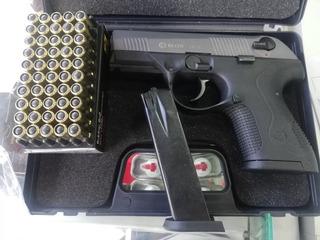 Pistola Traumatica Blow Tr14 + Proveedor, Caja X 50 Salva