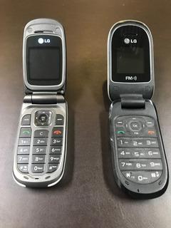 2 Celulares Lg Início Anos 2000