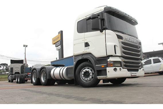 Scania G 420 6x4 2010 No Cavalo Mecânico = 124 114 380 420 G