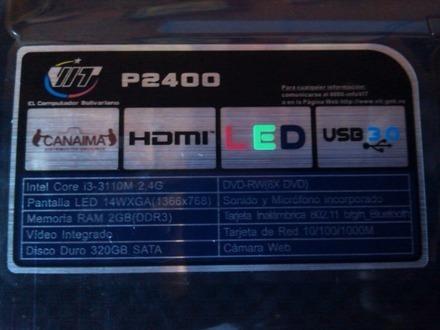 Laptop I3 4gb Ram Dd500gb Excelente