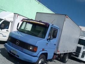 Mercedes-benz Mb 709 Baú Segundo Dono Aceito Troca Carro