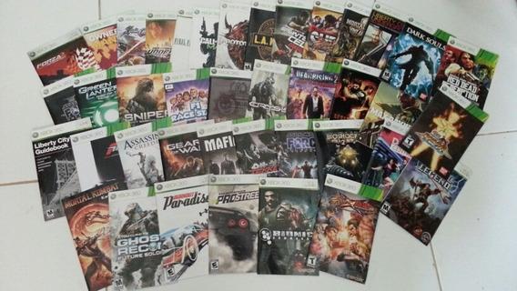 Manuais Xbox360 Manuais Xbox360 Manuais Xbox360 Manuais