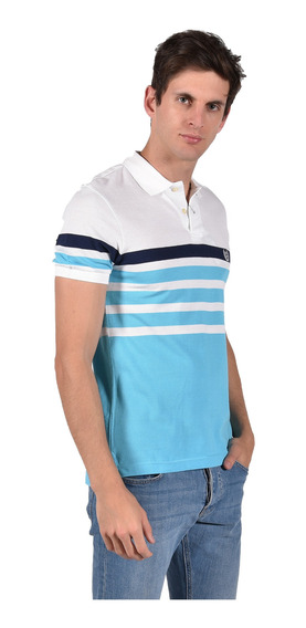 Polo Classic Fit Chaps Blanco 750714399-2wgr Hombre
