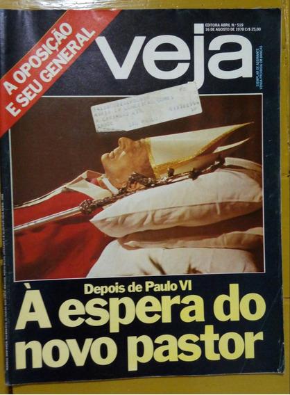 Revista Veja Morte Papa João Vi 1978