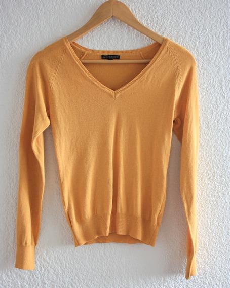 Suéter Para Mujer Color Amarillo, Talla Ch