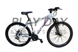 Bicicleta Mountain Bike Dama Kawasaki R27.5 Shimano Cuotas