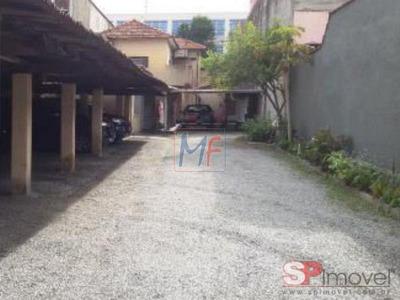 Ref 7543 - Terreno De 500 M² , Plano , Com 3 Casas Antigas No Local Com Entrada Para Duas Ruas - Vila Maria Baixa. - 7543