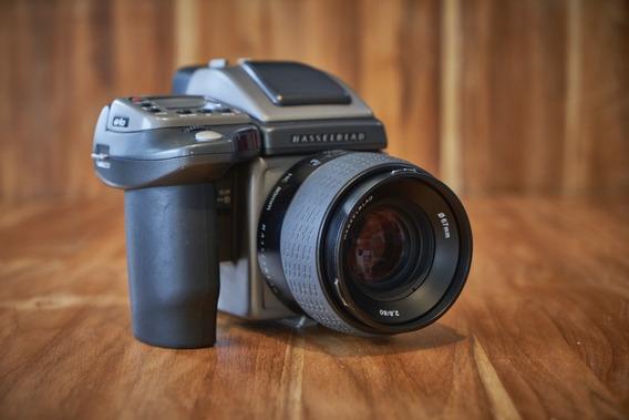 Câmera Dslr Hasselblad H4d-40 Stainless Steel C/ Lente 80mm